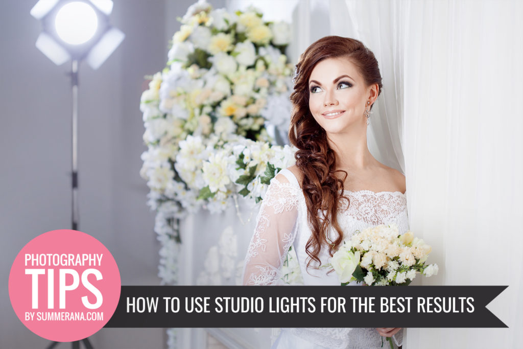 How to use studio lights for the best results