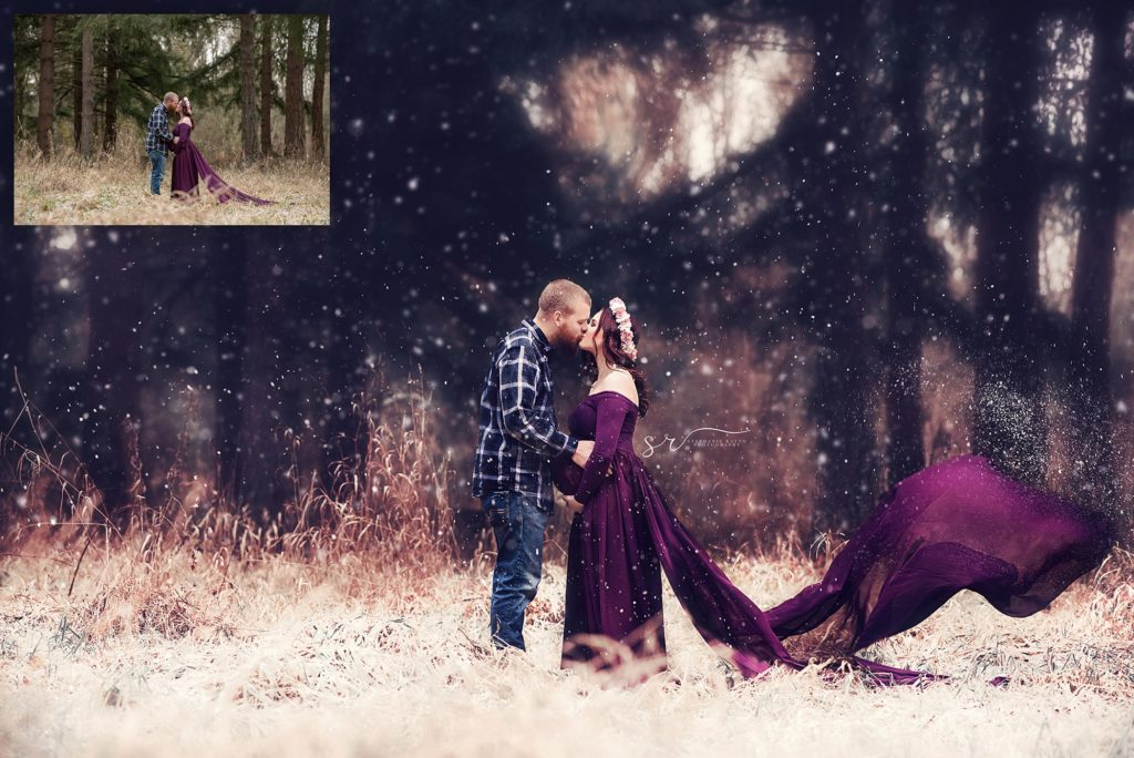 Winter Play – Snow Overlay and Photoshop Action Collection