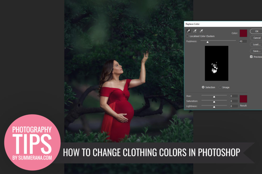 how to change text color in photoshop