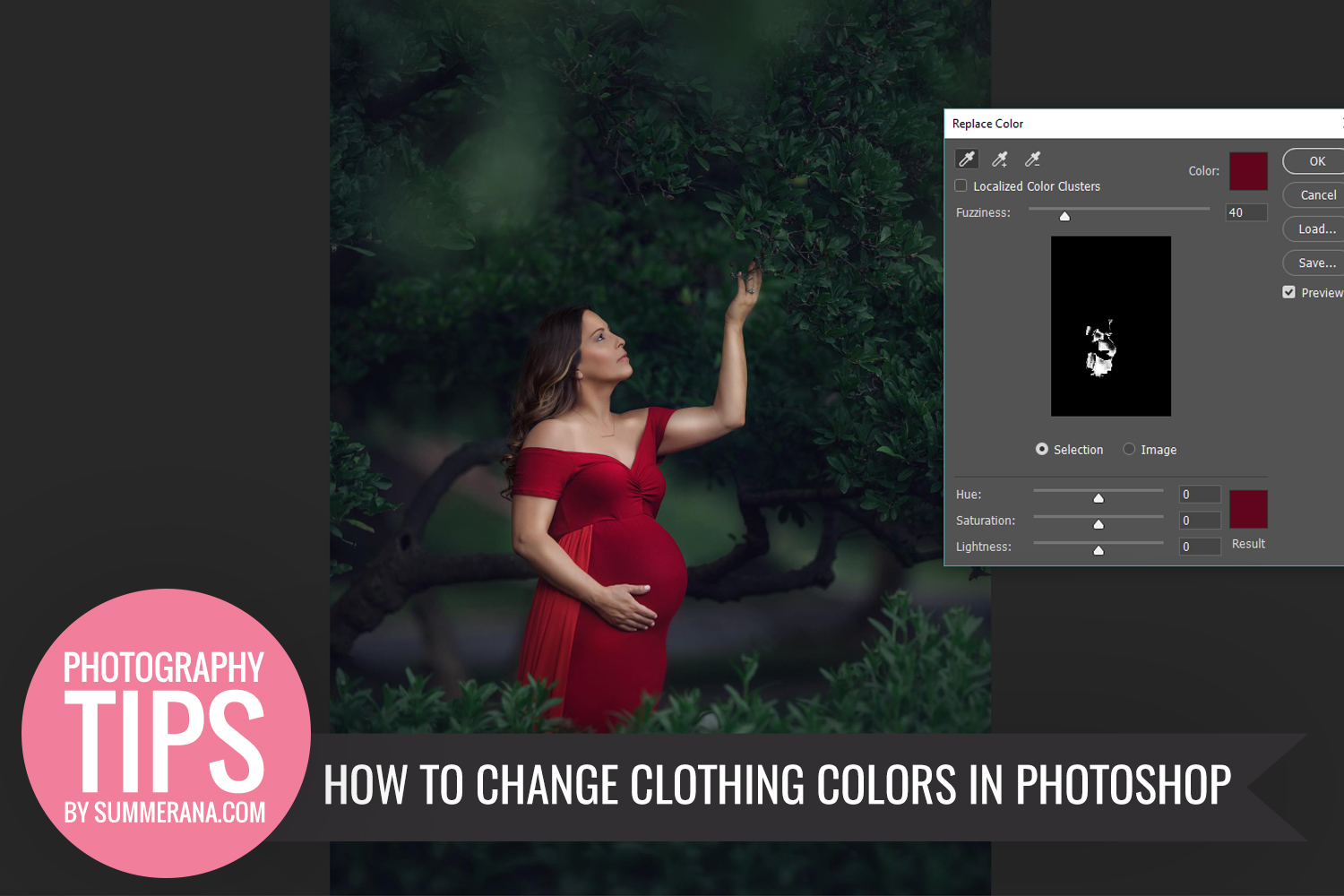 how to change color on photo in photoshop